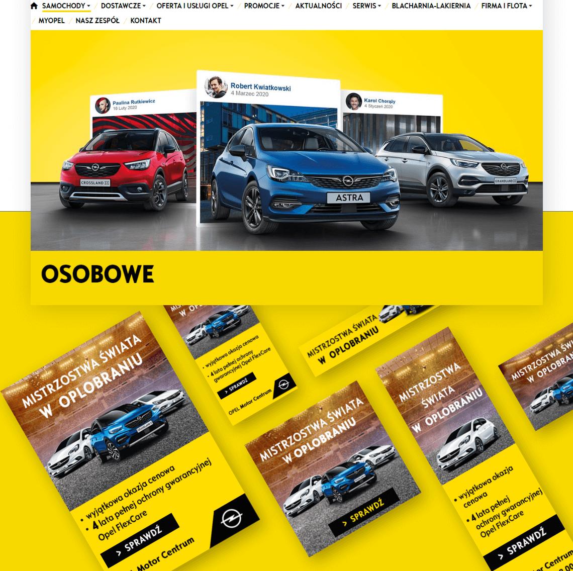Kampania Programmatic - Opel
